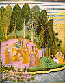Krsna Sporting with the Gopis Kishanghar.jpg