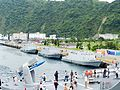 Kuang Hua VI Class Missile Boats Shipped in No.13 Pier of Zhongzheng Naval Base 20130504b.jpg
