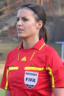 Katalin Kulcsár Hungarian association football referee and association football player