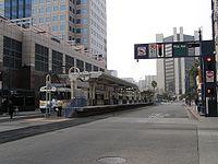 LACMTA blue line transit mall.JPG