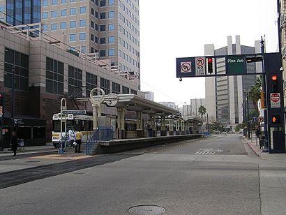 Long Beach By Bus Or Light Rail