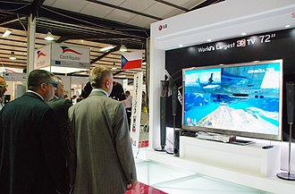 3D television - An example of three-dimensional television.