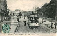 LL 75 - CAMBRAI - La Rue Porte-Robert et la Gare du Cambraisis.JPG