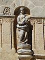 La Chapelle-Faucher église sculpture portail détail (8).JPG