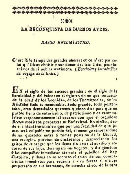File:La Reconquista de Buenos Ayres. Rasgo encomiastico.pdf
