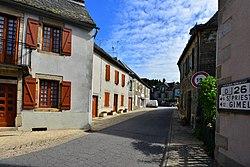 La rue principale de Saint-Martial.de.Gimel.jpg