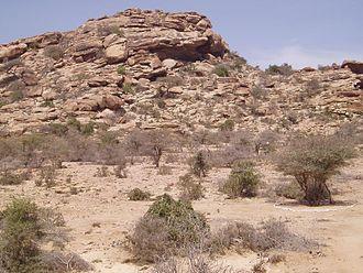 Laas Geel - Laas Geel rock exterior