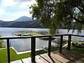 Lake Amatitlán, tree house view - panoramio.jpg