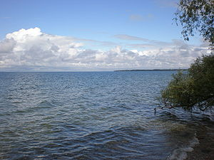 Lake Simcoe - View of Lake Simcoe