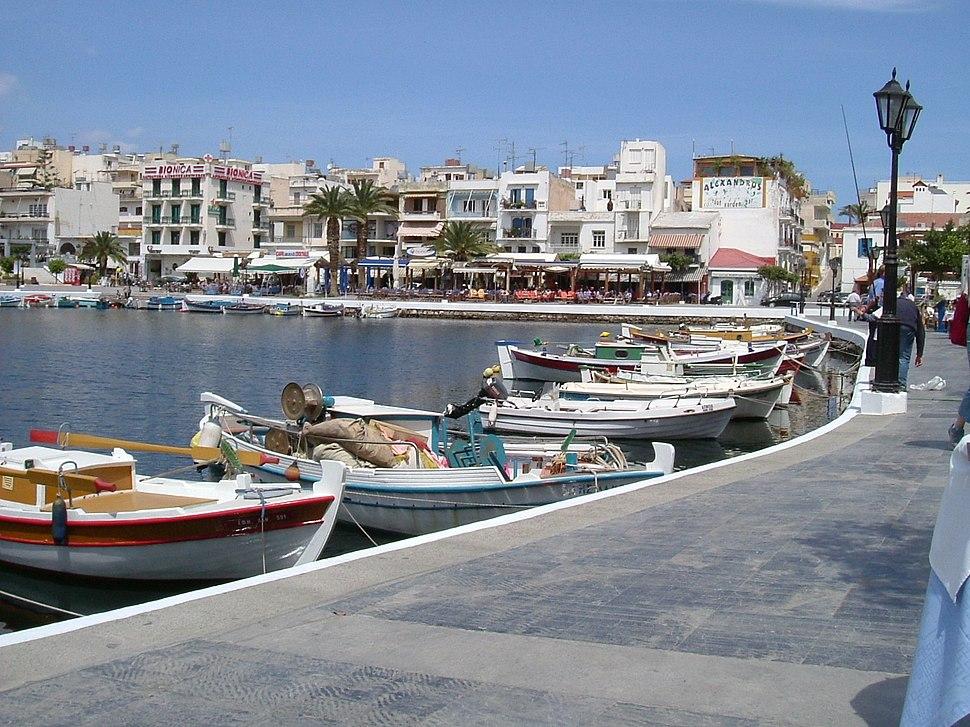 Lake Voulismeni Agios Nikolaos 4-2004 2