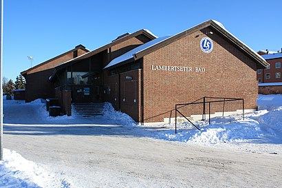 How to get to Lambertseter Bad in Oslo by Bus, Subway or
