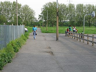 Leyton Marshes - Playgrounds near the Seymour Road entrance