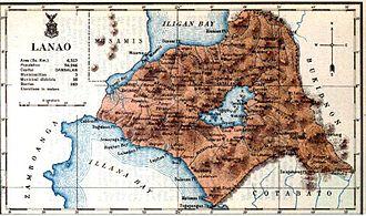 Lanao del Sur - Lanao province map in 1918