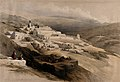 Landscape with the convent of the Terra Santa, Nazareth, Isr Wellcome V0049408.jpg
