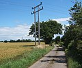 Lane away from Wick's Farm - geograph.org.uk - 889039.jpg