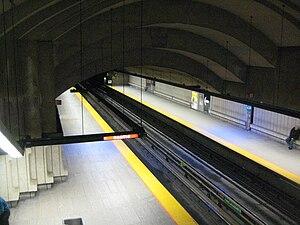 Langelier station - Image: Langelier Station Metro