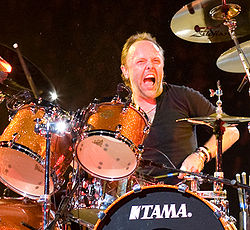 Metallica  250px-Lars_London_2008_crop