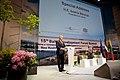 Latvijas Ministru prezidents Valdis Dombrovskis, Lietuvas Ministru prezidents Aļģirds Butkevičs (Algirdas Butkevičius) un Igaunijas premjerministrs Andruss Ansips (Andrus Ansip) apmeklē Baltijas attīstības forumu (8888349698).jpg