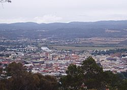 Launceston view of city.JPG