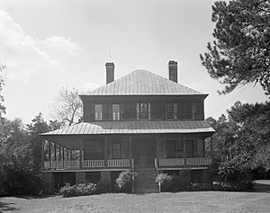National Register of Historic Places listings in Berkeley County, South Carolina - Image: Lawson's Pond Plantation House