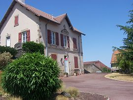 The town hall in Le Rousset-Marizy