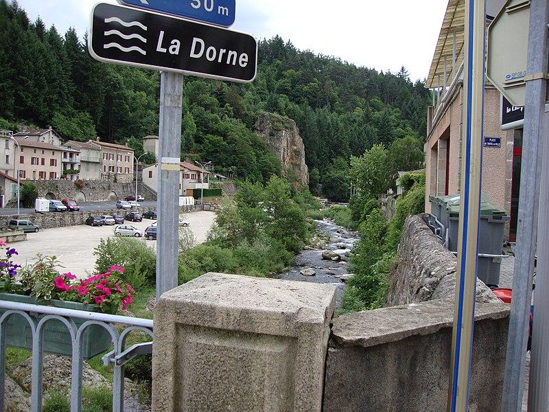 Le Cheylard (Ardèche, Fr) La Dorne