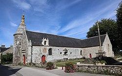 Le Guerno (56) Église Sainte-Anne - Extérieur - 03.jpg