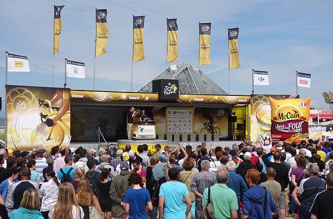 Le Touquet-Paris-Plage - Tour de France, étape 4, 8 juillet 2014, départ (A47).JPG