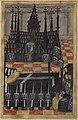 Le corps d'Anne de Bretagne est déposé sous une chapelle ardente dans le chœur de l'église Saint-Sauveur de Blois.jpg