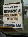 Lecarrow, county Roscommon, sign of the sporting times - geograph.org.uk - 2192570.jpg