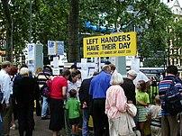 Left Handers' Day, August 13 2002