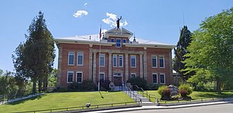Lemhi County, Idaho - Image: Lemhi County Courthouse 1