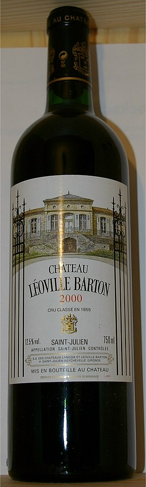 Château Léoville-Barton - A bottle of the 2000 Château Léoville-Barton