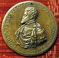 Leone leoni, medaglia di filippo II di spagna e d'inghilterra.JPG