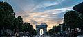 Les Champs Elysées et l'Arc de Triomphe, 6 juin 2014.jpg