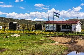 Sani Pass - Lesotho Border Post