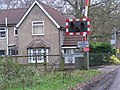 Level Crossing complete with grid ref - geograph.org.uk - 301543.jpg