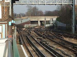 Leytonstone tube station - Image: Leytonstone station junction