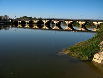 Libourne - Bridge over the Dordogne