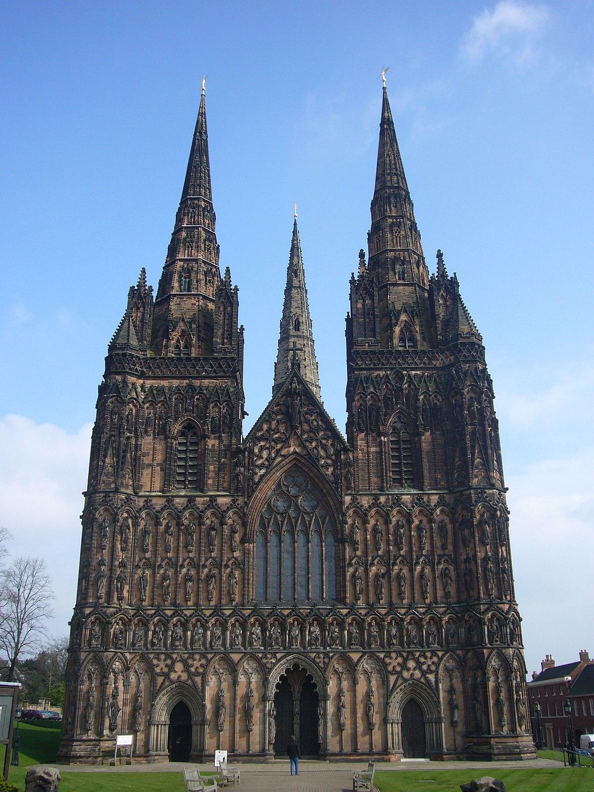 Lichfield Cathedral - Wikipedia