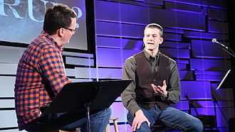 Michael R. Licona - Interview with Brian Marshall at the Christian Student Fellowship at the University of Kentucky.