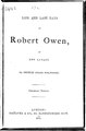 Life and last days of Robert Owen.pdf