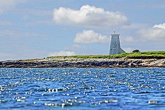 Devils Island (Nova Scotia) - Lighthouse on Devils Island
