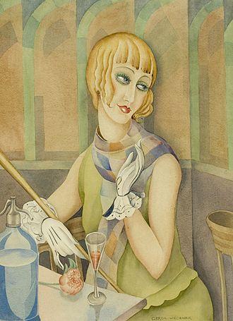 Gerda Wegener - Lili Elbe by Gerda Wegener, c. 1928