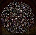 Lincoln Cathedral, Bishop's eye window (27640558367).jpg