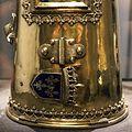 Lione, reliquiario del braccio di carlo magno, argento dorato, 1481, 03.jpg