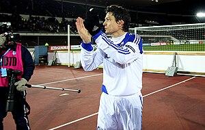 Jari Litmanen - Litmanen after his last international against San Marino in November 2010