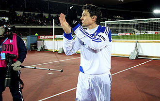 Jari Litmanen - Litmanen after his last international against San Marino in November 2010