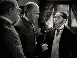 Henry Stephenson - Henry Stephenson (middle) in Little Lord Fauntleroy (1936); with C. Aubrey Smith (left) and Walter Kingsford (right)