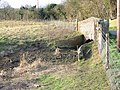 Little bridge over the dried up Nailbourne - geograph.org.uk - 644309.jpg